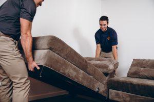 911Restoration-removing-furniture Madison